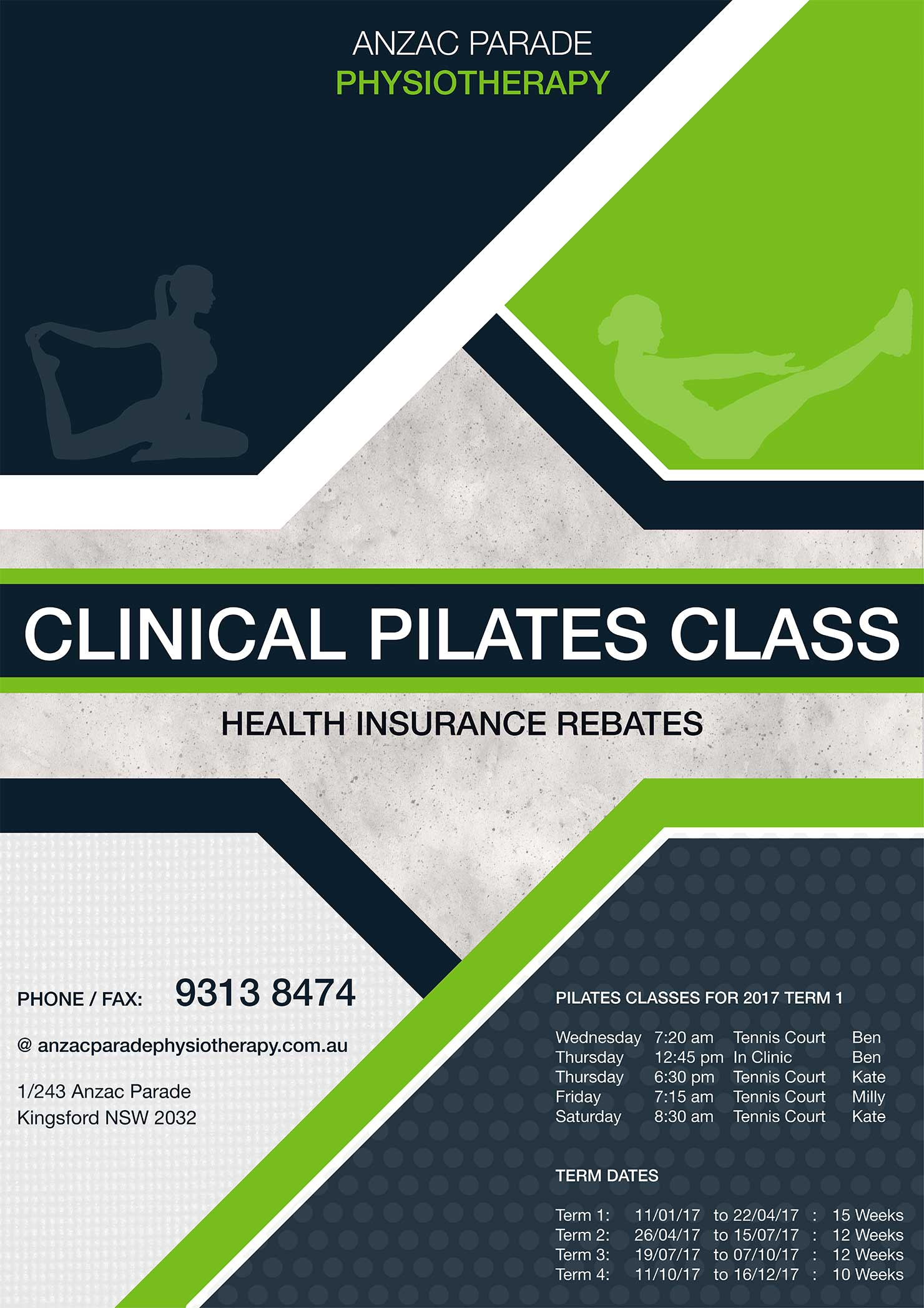 Anzac Parade Pilates